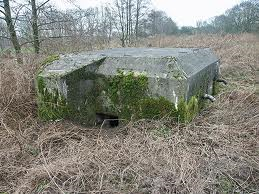 Bunker onderdeel van de Grebbelinie