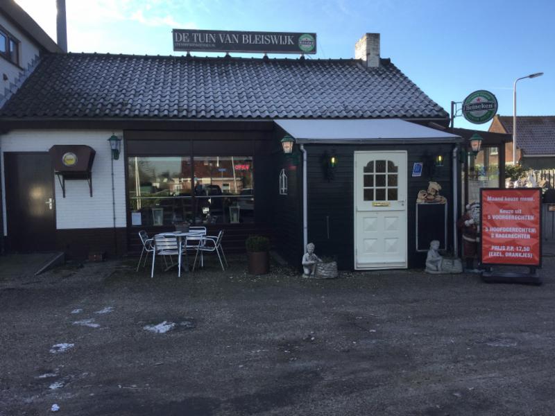 restaurant eetcafe de tuin van bleiswijk in bleiswijk