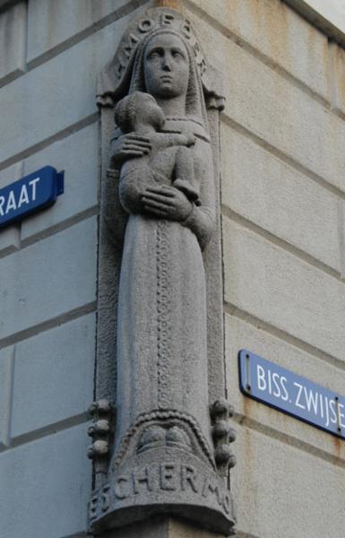 Mariabeeld Bisschop Zwijsenstraat