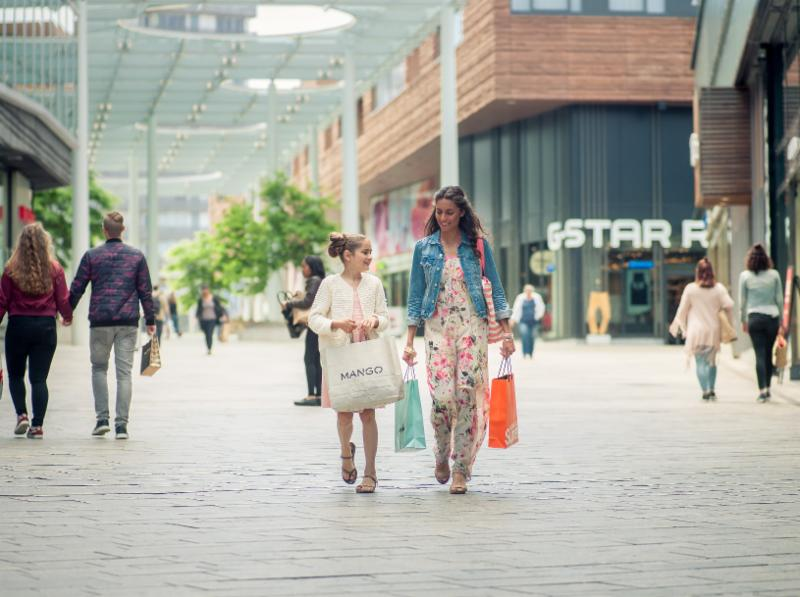 Shoppen in Almere Centrum