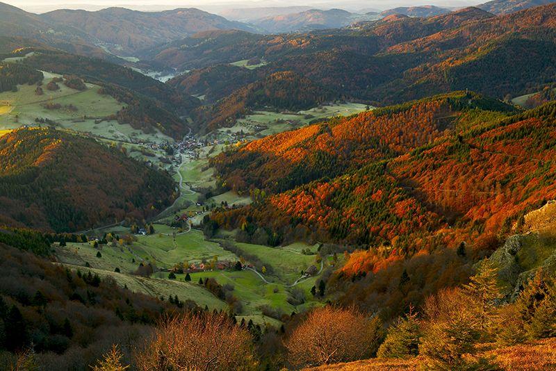 Uitzicht vanaf de Belchen