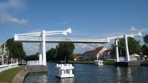 Brug over kanaal Oosteinde-Gent nabij Stalhille