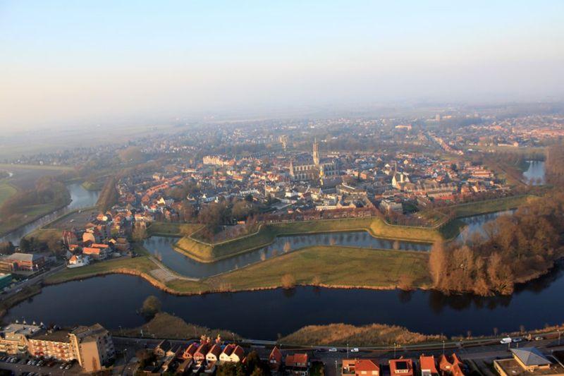 Foto 1: Grenshoppen in Zeeuws-Vlaanderen