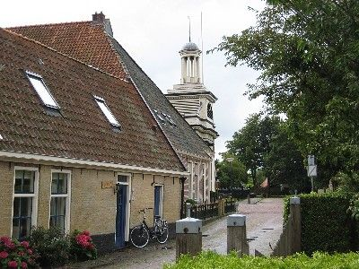 Old Dutch church of Langweer (Friesland Netherlands)
