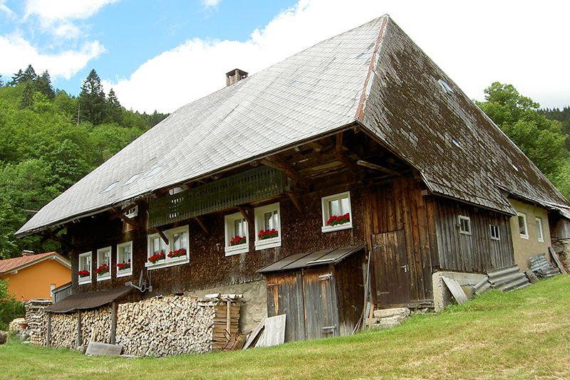 Boerderij bij Brandenberg in het Zwarte Woud