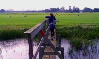 Volop genieten van de KLaas Hoorn- en Kijfpolderroute