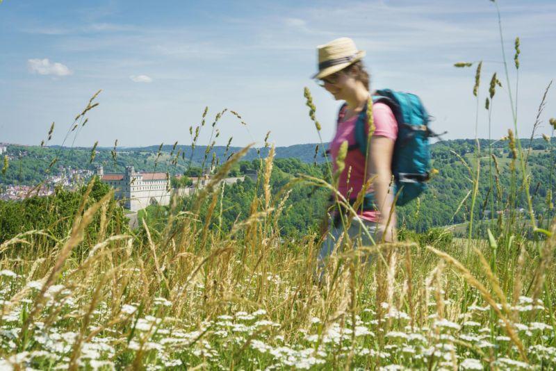 Naturpark Altmühltal - Altmühltal-Panoramaweg -Willibaldsburg