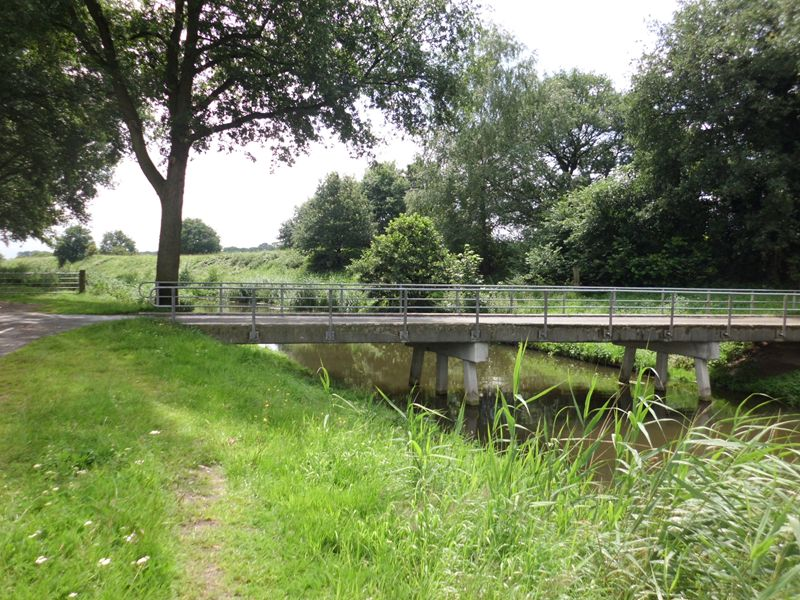 Grebbelinie, brug over het Valleikanaal, Woudenberg
