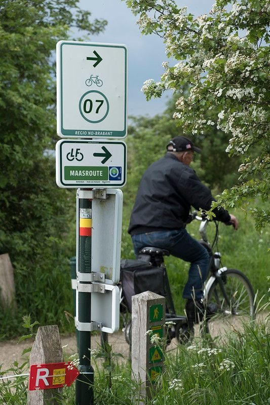 3-day bike touring microadventure Steyl