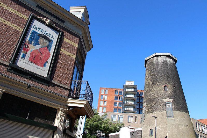 Rotterdam - Molen de Graankorrel