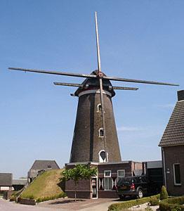 Molen De Korenbloem in Mill
