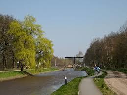 Brug over kanaal Almelo Nordhorn