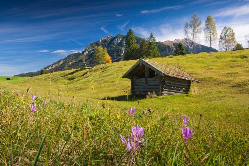 Alpenwelt Karwendel - Stadl auf den Buckelwiesen