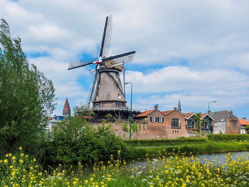 """Molen """"De Valk"""" - Montfoort - Utrecht - Rijksmonument"""
