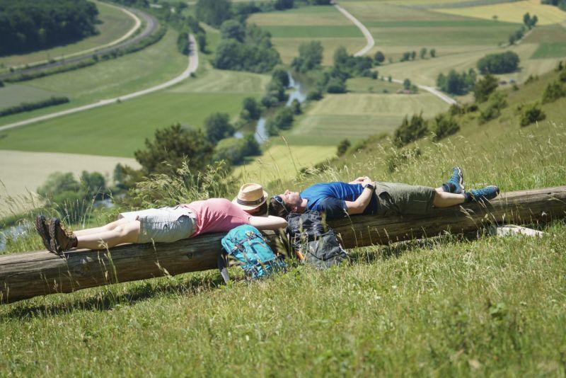 Naturpark Altmühltal - Altmühltal-Panoramaweg - Lange Bank