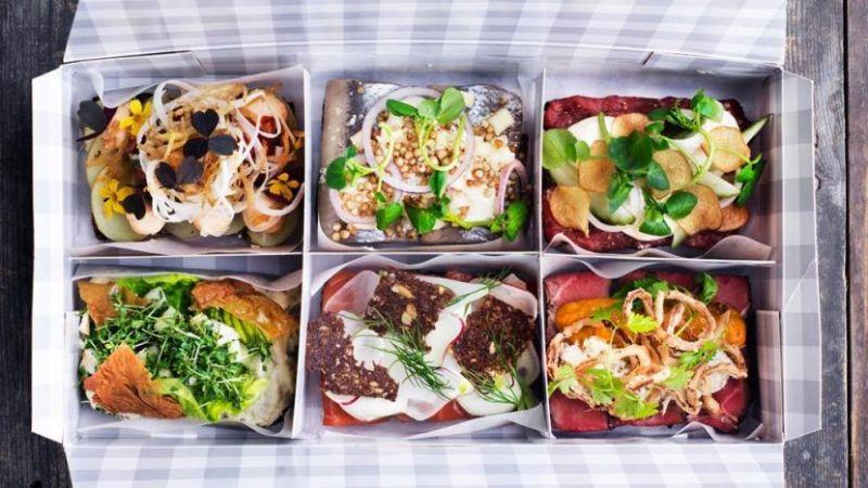 Kopenhagen-Berlijn - 5 - Smörrebrod_lunchbox