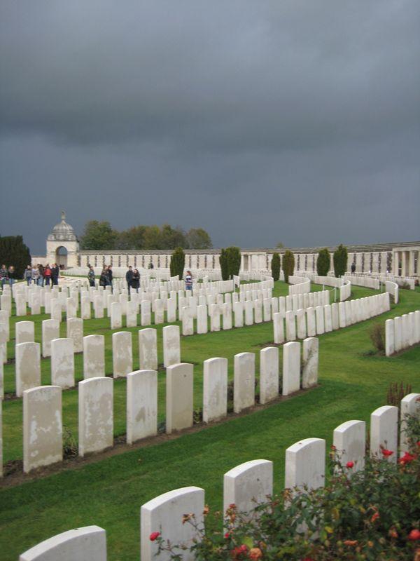 WO 1 begraafplaats
