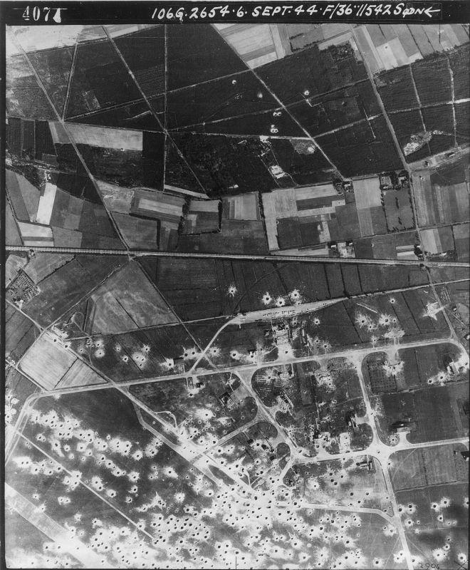 Luchtfoto Trentse bossen