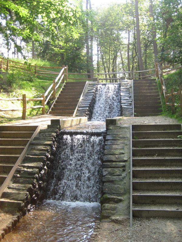 Watervallen bij Loenen
