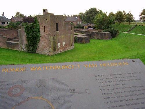 kasteel/waterburcht van Heusden