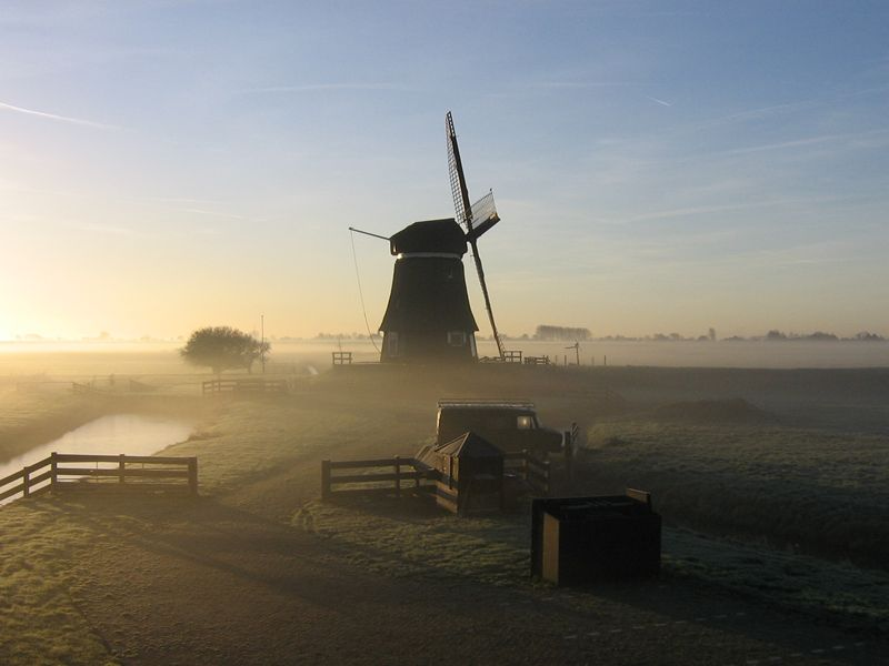 Molen in Zeevang
