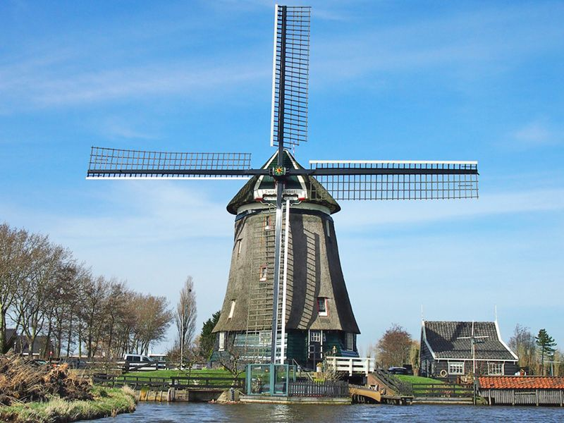 Tweede Broekermolen Uitgeest