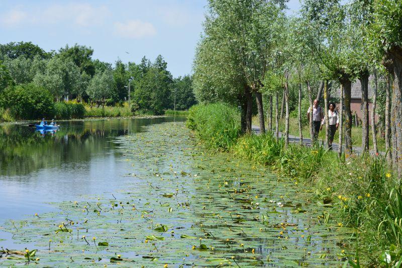 Wandelen langs veenrivier de Vlist