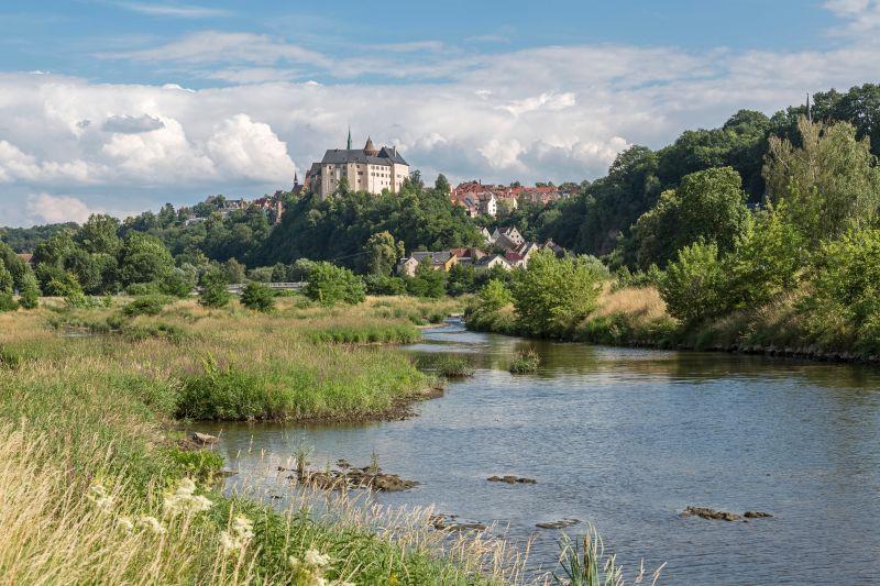 Muldental-Wanderweg (Freiberger und Zwickauer Mulde) - Burg Mildenstein in Leisnig