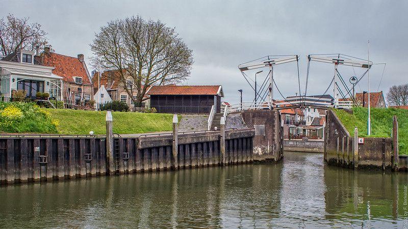 Keersluizen bij de Visbrug te Schoonhoven - Rijksmonument