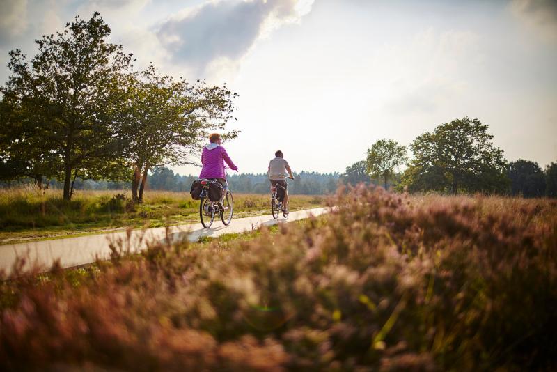 Senioren CartierHeide fietsen LR