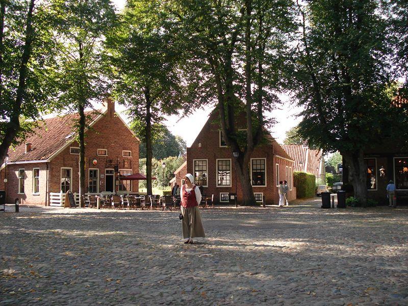 Bourtange in het dorp