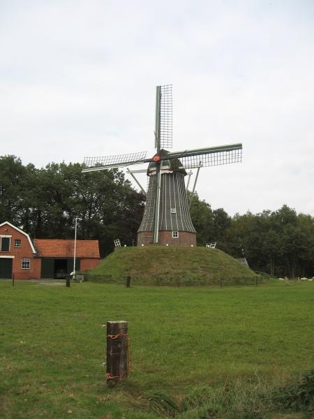 Foto 1: Fietsen over de grens vanuit Ootmarsum