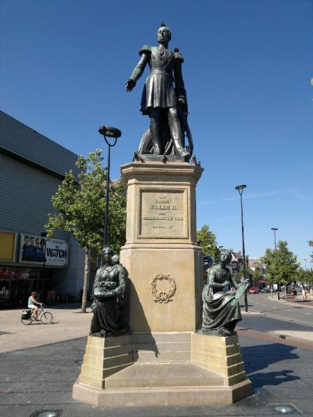 Standbeeld Willem II