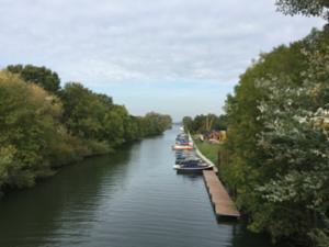 Wandel- en fietsterras de Dolfijn