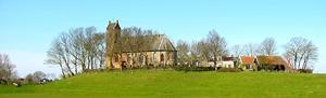 Foto 1: Door de Friese kwelders