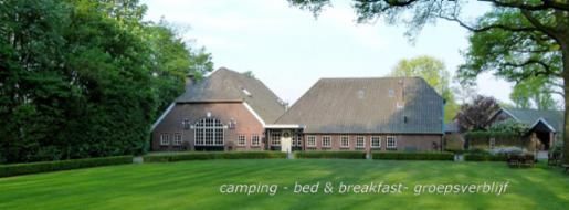 Camping en B&B Erve 't Byvanck
