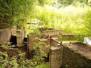 Romeijnstuw in het waterloopbos