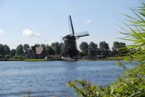 Broekdijkmolen In Warmond