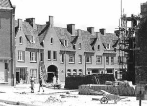 Wederopbouw centrum Rhenen