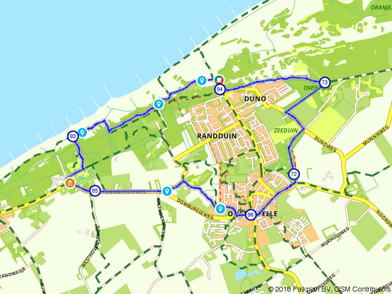 Wandelen door Oostkapelle en de Manteling