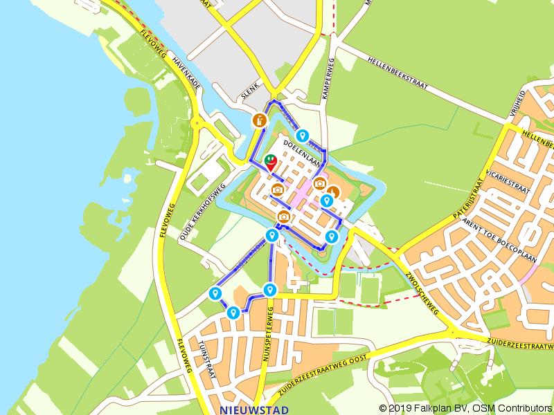 Rondje wandelen in vestingstad Elburg