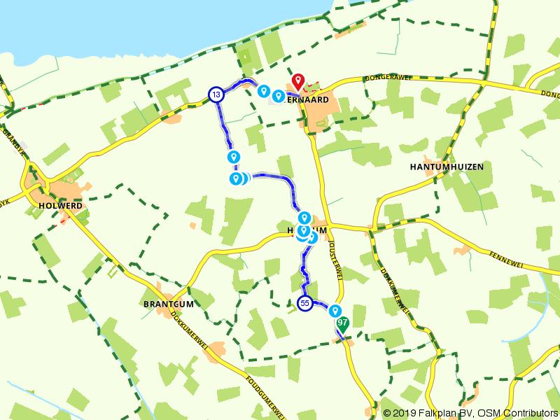 Historische wandelroute: Hiaure – Ternaard
