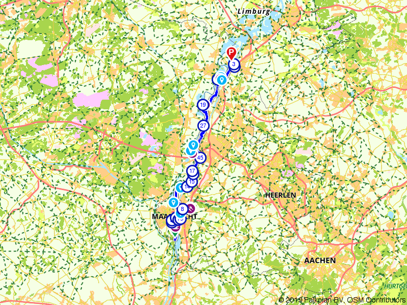 LF3 Maasroute: Deel 1 (Maastricht - Echt)