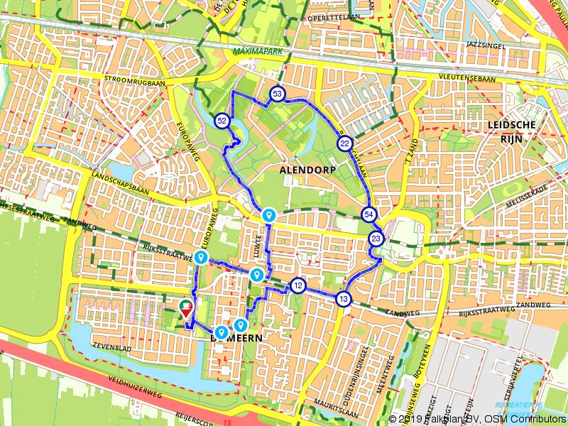 Wandelen door het Máximapark in Utrecht