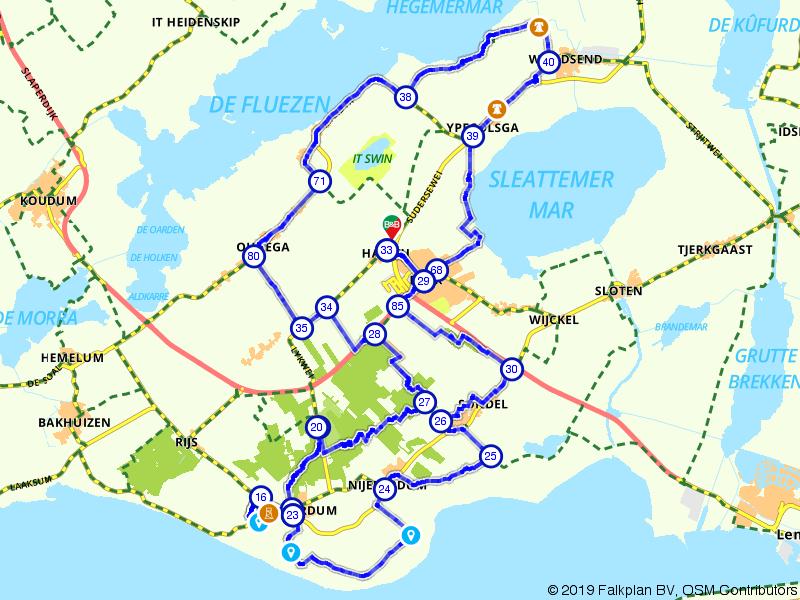 Rondje Friese Meren en Oudemirdum