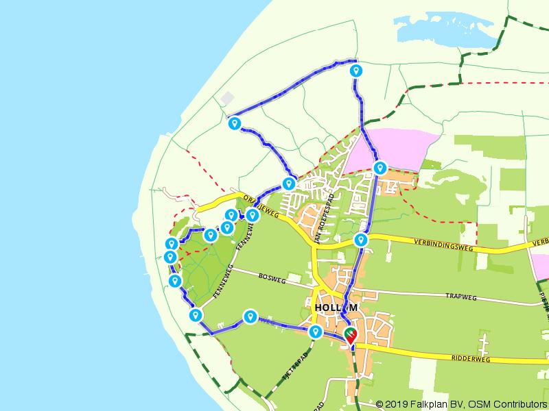 Wandelen op Ameland: Rondje Hollum