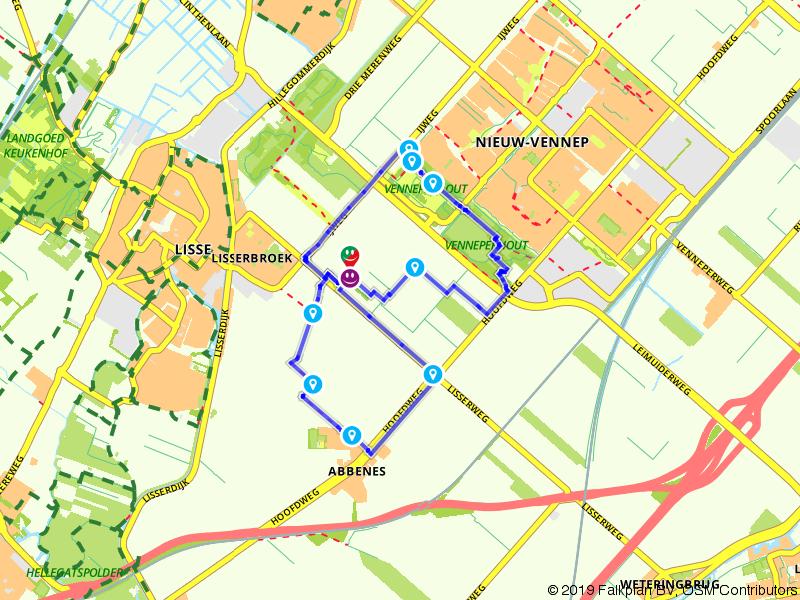 Achtje rondom Landgoed de Olmenhorst