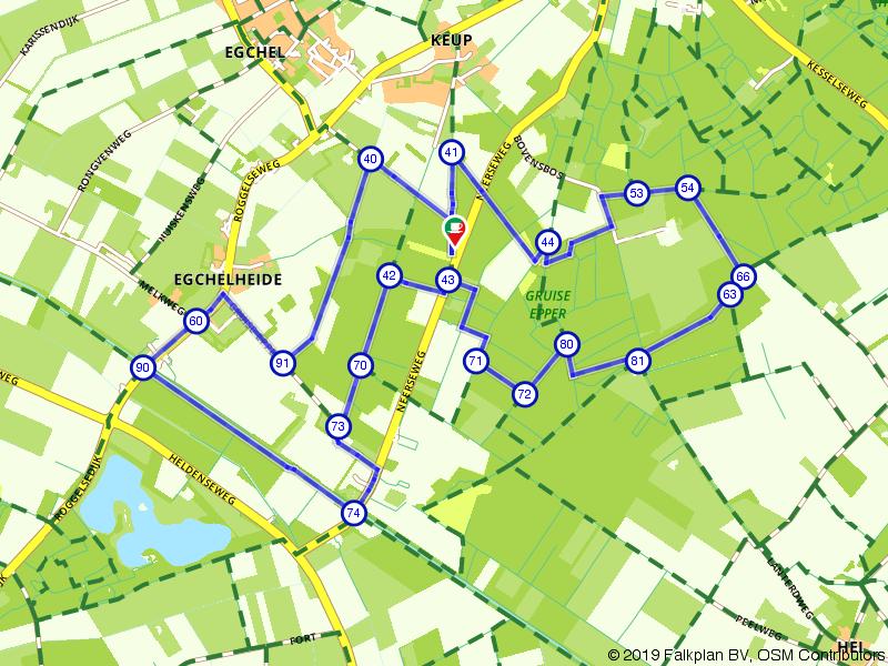 Rondje Gruise Epper en de Snepheiderbeek