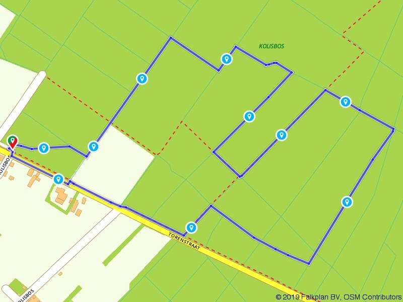 De Wielenweg en het Pierkespad