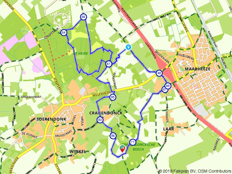 Tussen Zurrik en Mares: wandelen in het land van de Baronie en de Buulder Aa